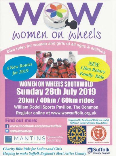 Women On Wheels - Bike Ride for Women & Girls of All Ages - Southwold @ William Godell Sports Pavillion
